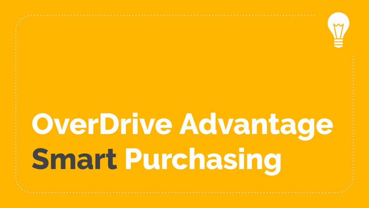 OverDrive Advantage Purchasing Webinar