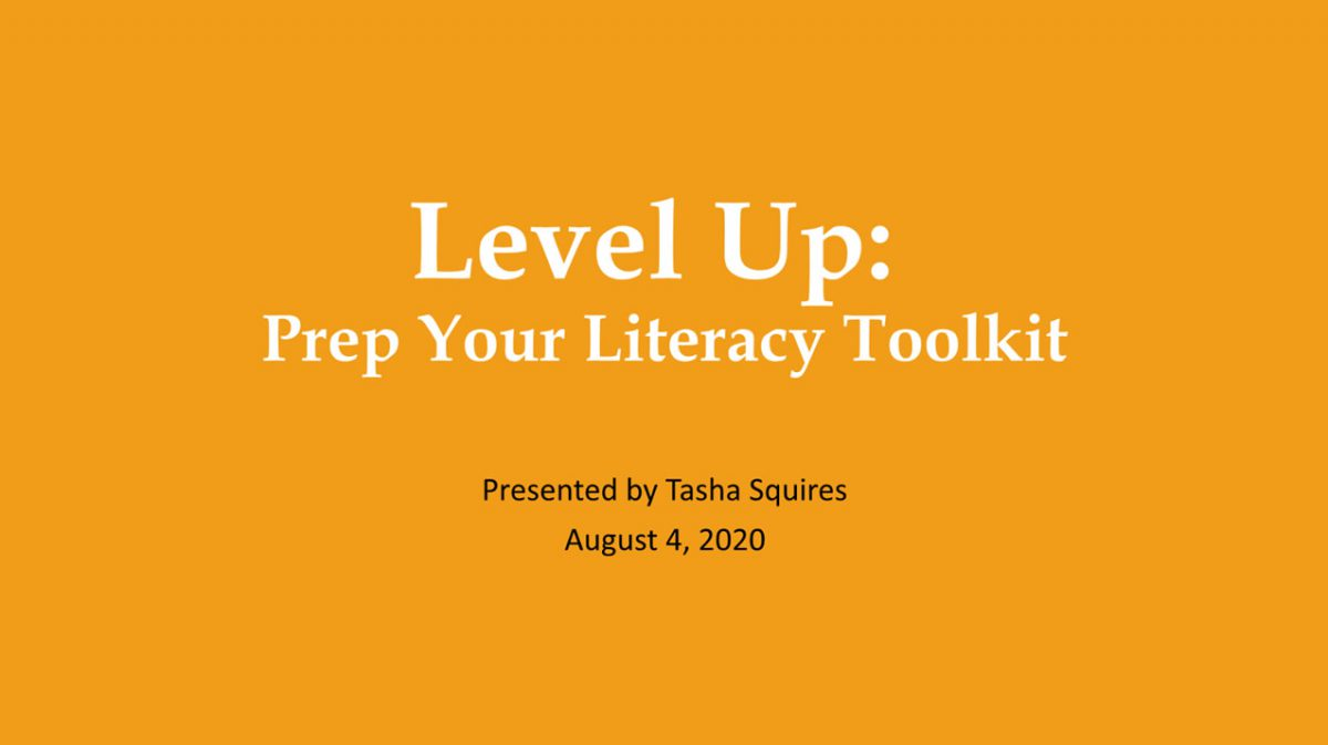 Prep Your Literacy Toolkit Webinar