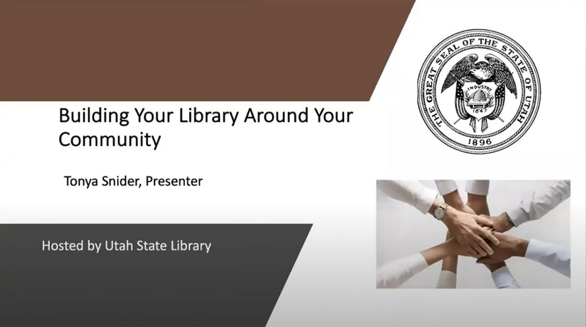 Building Your Library Around Your Community Webinar