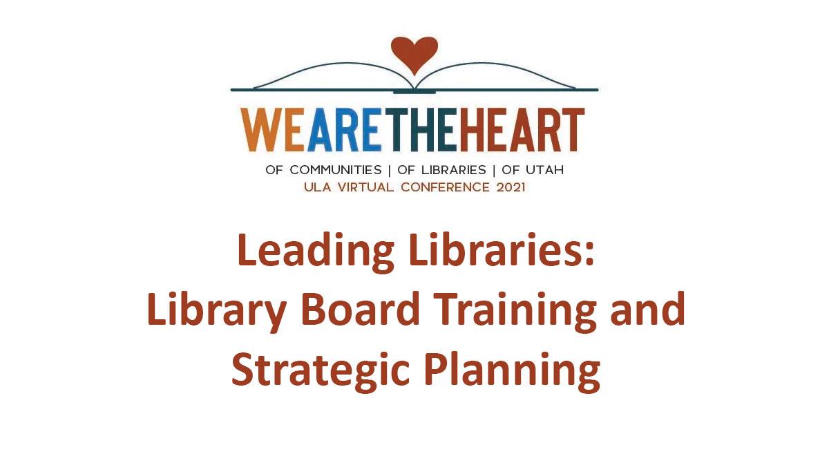 Leading Libraries Webinar