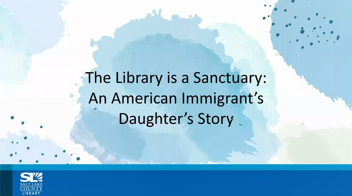 The Library is a Sanctuary Webinar